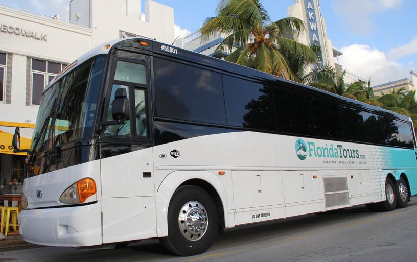 Luxury Buses Offer a Winning Edge