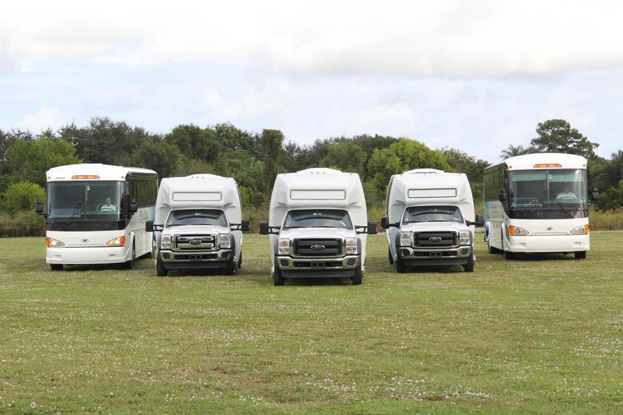 Bus Fleet Florida Tours